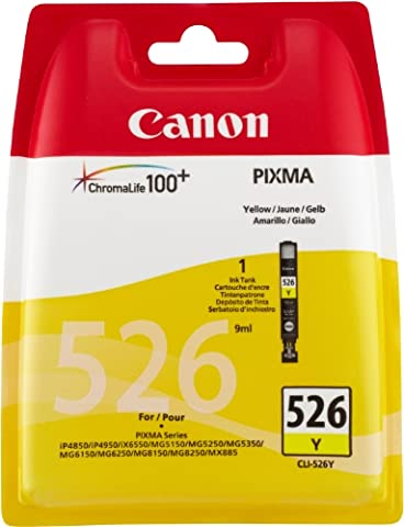 Canon CLI 526Y - Ink tank - 1 x yellow