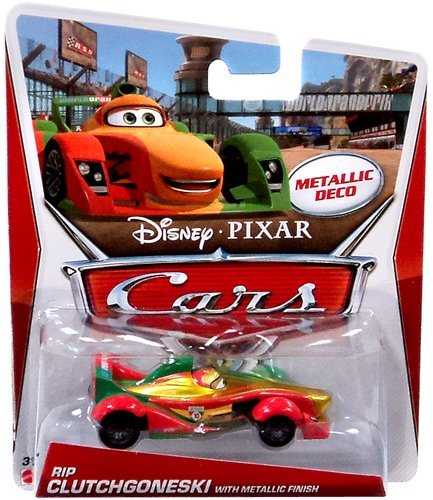 Disney Pixar CARS 2 Exclusive 1:55 Die Cast Car RIP CLUTCHGONESKY With Metallic Finish (Metallic Deco) - Voiture Miniature Echelle 1:55