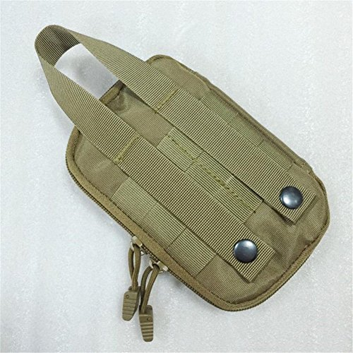 nighteyes66Tactical MOLLE EDC Tasche Outdoor Utility Gadget Handy Organizer Aufbewahrungstasche Grün