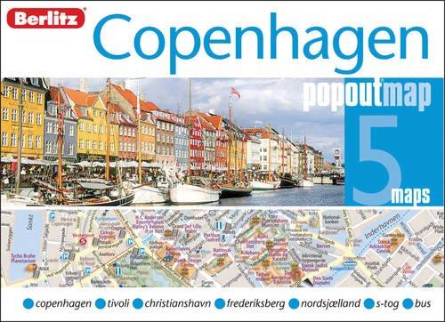 Copenhagen Berlitz PopOut Map (Berlitz PopOut Maps) por Berlitz