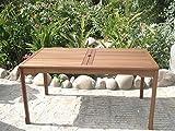 Sedex New Jersey Gartentisch 150 x 85 cm Tisch Hoztisch aus Eukalyptus