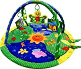 Just4baby Light & Musical Garden Bug Firefly - Alfombrilla de juegos para bebé