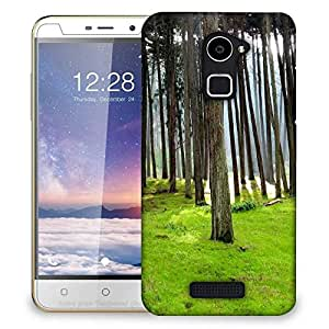 Snoogg Long Branched Tree Designer Protective Phone Back Case Cover For Coolpad Note 3 Lite