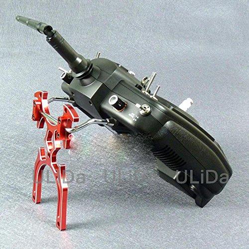 Generic Yellow : Robot Modeling CNC Metal RC Radio Transmitter Stand for Futaba JR SpekTrum Golden Red