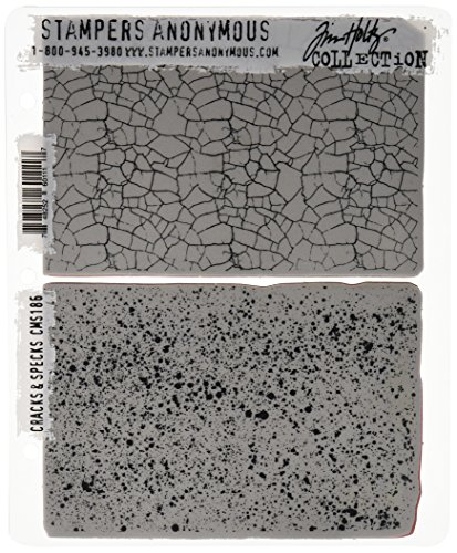 stampers-anonymous-cracks-and-specks-tim-holtz-cling-mounted-stamp-set