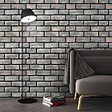 Wandaufkleber Yesmile 100x30CM Wandverkleidung in Steinoptik aus Styropor für Küche Terrasse Schlafzimmer Wohnzimmer Wandpaneele für Mediterrane Wandgestaltung (G)