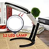 Rayinblue 5X Large Desk Magnifying Glass Lens Magnifier - Best Reviews Guide