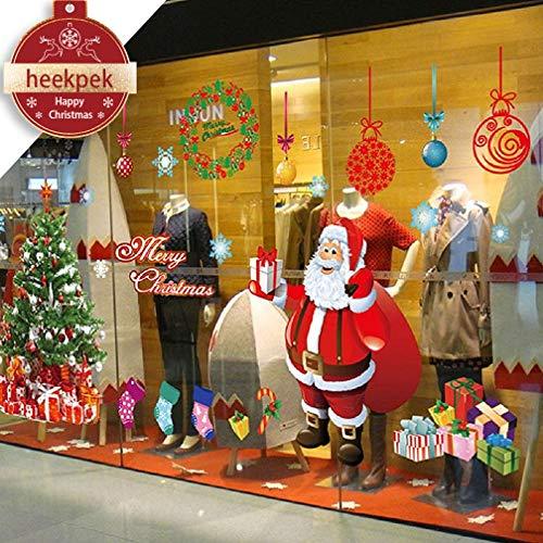 Heekpek Navidad Decoración Hogar Vinilo