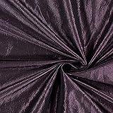 Fabulous Fabrics Taftstoff Crash – aubergine —