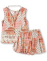 a4db536502 Orange Girls' Clothing Sets: Buy Orange Girls' Clothing Sets online ...