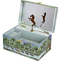 Trousselier - Pferd aus der Normandie - Musikschmuckdose - Spieluhr - Ideales Geschenk für junge Mädchen…
