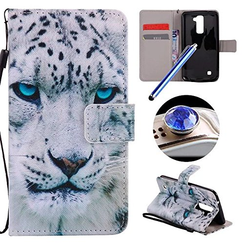 lg-k10-flip-caselg-k10-wallet-caseetsue-strap-leather-case-for-lg-k10cool-white-leopard-pattern-soft