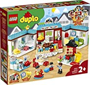 LEGO DUPLO Town Happy Childhood Moments 10943 Family House Toy Playset; Imaginative Play and Creative Fun for