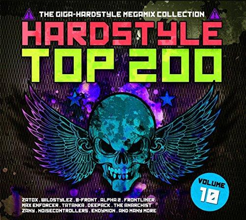 VA-Hardstyle Top 200 The Giga-Hardstyle Megamix Collection Vol. 10-4CD-FLAC-2017-VOLDiES Download
