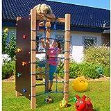 Klettergerüst mit Kletternetz Turnreck Kletterwand Leiter Kletterturm Spielturm
