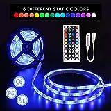 LED-Streifen-Lichter mit Fernbedienung 5m 16.4 Ft 5050 RGB 150LEDs Flexible...