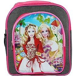 Frabjous Barbie Pink School Bag