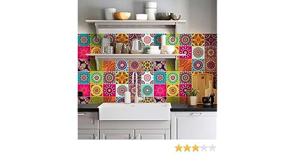 Wall art confezione pezzi adesivi per piastrelle formato