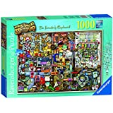 Ravensburger The Curious Cupboard No.5 - The Inventor's Cupboard, 1000pc Jigsaw Puzzle