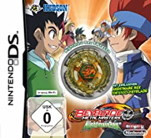 Beyblade Metal Master - Nightmare Rex [Edizione: Germania]