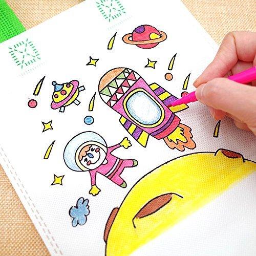Bolsas para Colorear 12 Pcs (Diferentes Diseño) con 24 Pasteles de ...