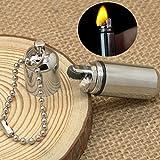 Forfar Mini EDC Schlüsselanhänger Feuerzeug Wasserdicht Feuerzeug Outdoor Camping Emergency Überlebens Taschen Schlüssel