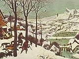 Lais Puzzle Pieter Bruegel d. Ä. - Cycle des Images Mensuelles, Scène: Retour des Chasseurs (Mois de Janvier), détail 1000 Pieces