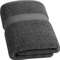 Utopia Towels - 700 gsm Toallas de baño de algodón (90 x 180 cm) Hoja de baño de Lujo hogar, los baños, la Piscina y el Gimnasio Algodón de Anillos (Gris)