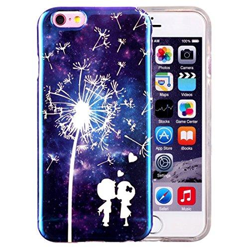Phone case & Hülle Für iPhone 6 / 6s, IMD Dandelions Pattern Blu-ray Soft TPU Schutzhülle ( SKU : IP6G2040C ) IP6G2040K