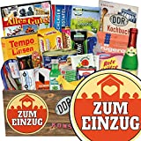 Zum Einzug | Spezialitätenbox | Geschenkideen | Zum Einzug | Ostalgie Geschenkset | Geschenk zum Einzug für Männer | GRATIS DDR Kochbuch