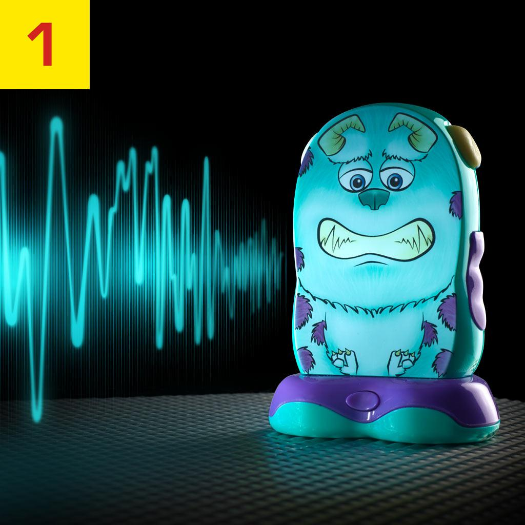 Go Glow Hero Monsters University Sulley Room Guard