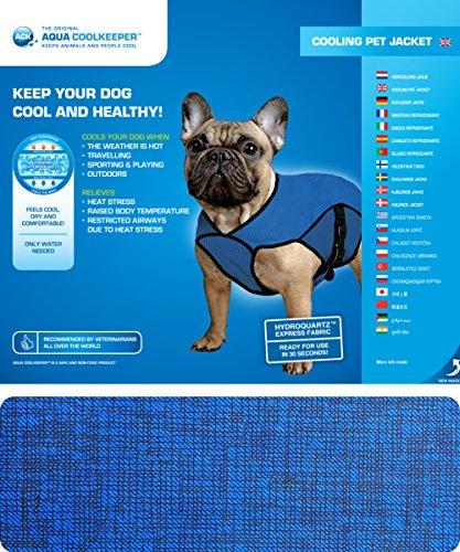 Aqua Coolkeeper Kühlender Hunde-Mantel