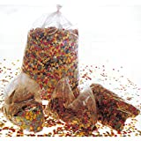 NET TOYS Konfetti Beutel Party Confetti 10kg Geburtstag Tischkonfetti Deko Papierkonfetti Geburtstagskonfetti Partydeko Fasching Zubehör Karneval Dekoration bunt