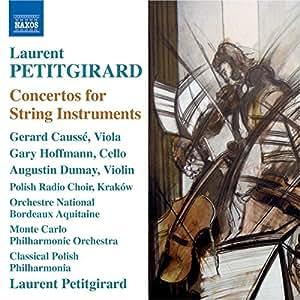 Konzerte F. Streichinstrumente