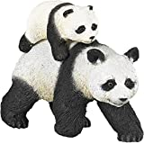 Papo 50071 panda med unga djur vilda djur i världen, flera färger