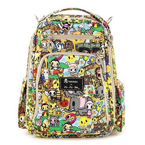 Ju Ju Be Be Right Back TokiDoki Collection Backpack Diaper Bag, Animalini
