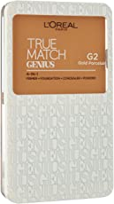 L'Oreal Paris True Match Genius Face Powder, Gold Porcelain G2, 7g