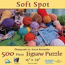 Sunsout 35362 - Romanko: Soft spot 500 piezas Puzzle panorámico-