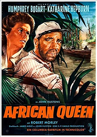Fantastic A4 Glossy Print - 'The African Queen' (3) (German)