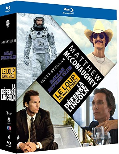 Matthew McConaughey : Interstellar + Dallas Buyers Club + Le loup de Wall Street + La défense Lincoln [Édition Limitée]