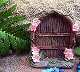 Mezzaluna Gifts Mini Porte de Fée ~ pour Votre Propre Jardin de Fée–Couleur Aléatoire