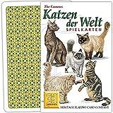 Spielkarten Katzen der Welt