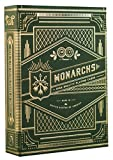 Monarch Playing Cards Green Carte Da Gioco Verdi