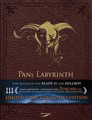 Pans Labyrinth (Limited Edition, 3 DVD Digipack) [Import allemand]