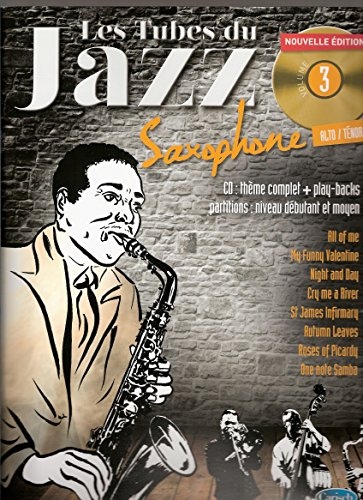 Tubes Du Jazz Sax Vol 3 Bk/Cd