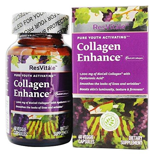 ResVitale – Collagen Enhance 1000 mg. – 60 Vegetarian Capsules
