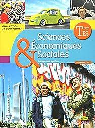 Sciences Économiques et Sociales Tle ES • Manuel de l'élève Spécifique Grand format