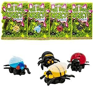 Novelty Joke Pull String Creepy Crawlie Bug - Ideal Christmas / Birthday Gift for Stocking Filler for Boys & Girls