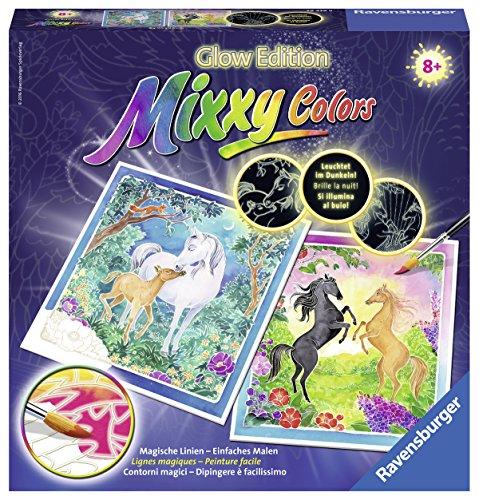 Ravensburger Mixxy Colors Glow Edition Treue Pferde