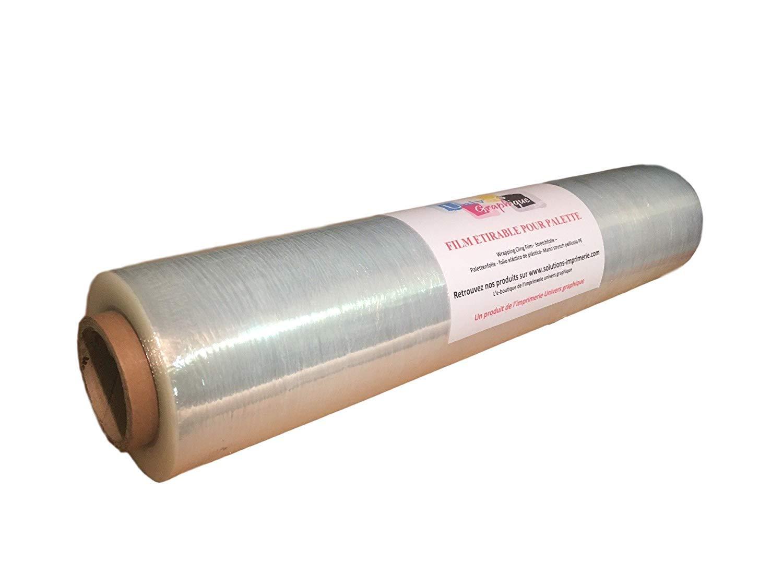 400/mm x 250 Pl/ástico para embalaje retr/áctil color negro Triplast